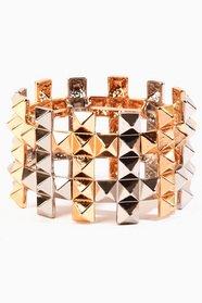 Pyramid Cross Bracelet 9