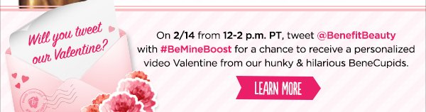 One-day-only Valentine's deal!