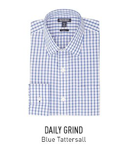 Blue Tattersall Dress Shirt