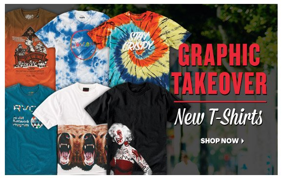 Graphic Takeover: New T-Shirts