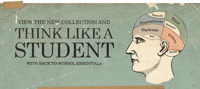 New Collection - Think like a student