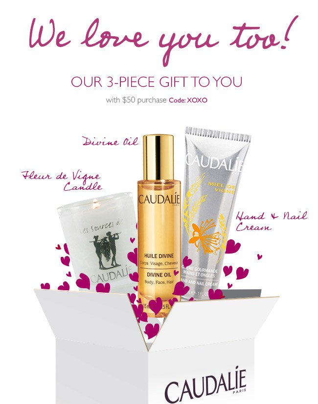 Discover the rewarding world of myCaudalie. Earn valueable points towards FREE GIFTS...
