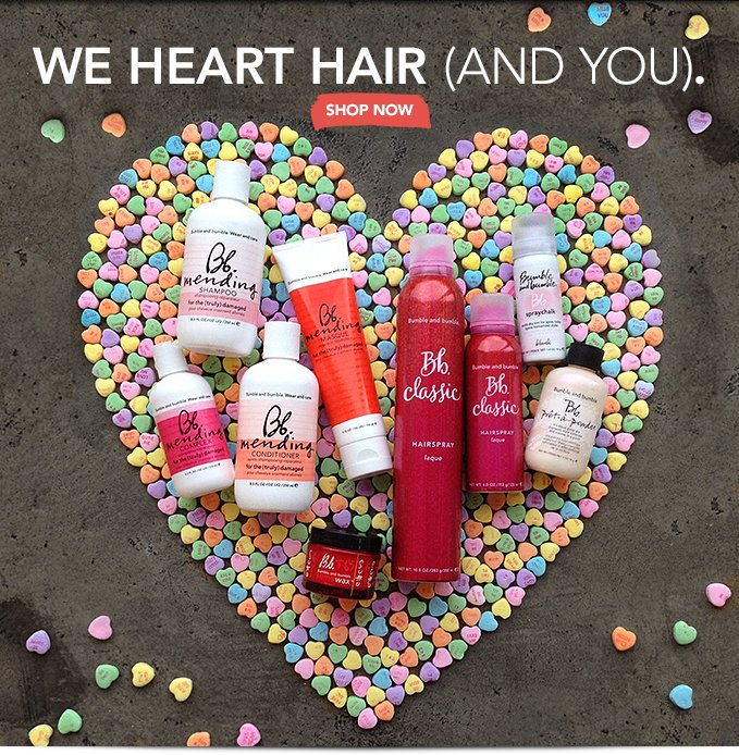 We heart hair (and you). »SHOP