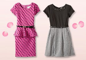 Party Time: Girls' Dresses