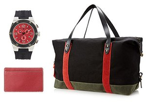 Pop of Red: Accessories