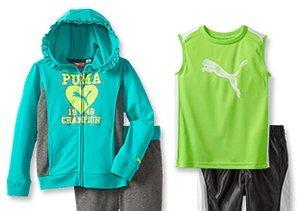 Kids' Activewear feat. Puma & Fila