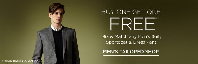 Buy One Get One Free Suits, Sportcoats & more
