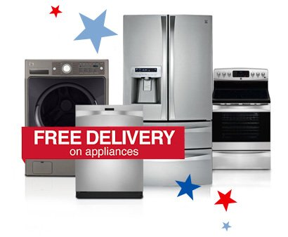 FREE DELIVERY on appliances