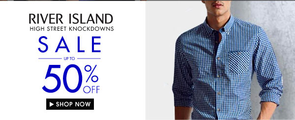 Get river island up to 60% off