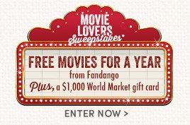 Enter to win Free Movies for a Year!