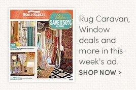 Rug Caravan, Window Deals and more in this week's ad.