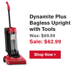 Dynamite Plug Bagless Upright