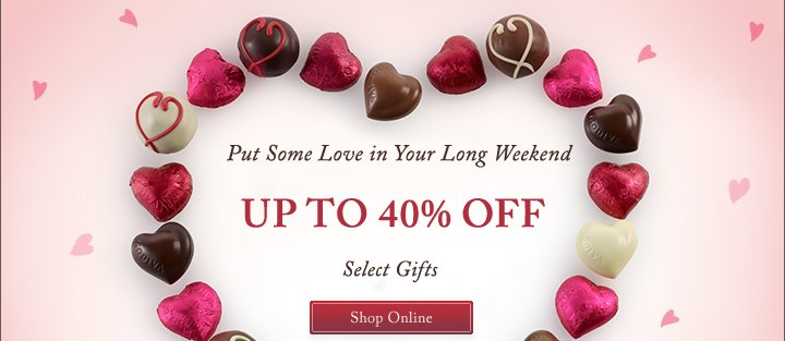 Put Some Love in Your Long Weekend | Shop Online