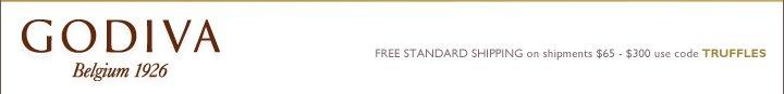 GODIVA Belgium 1926 FREE STANDARD SHIPPING on shipments $65-$300 use code HUGS