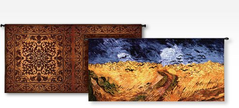 Double Iron Work; Wheatfields with Crows By: Vincent Van Gogh