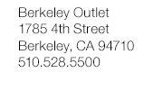 Berkley Outlet