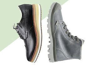 Thick Soled: Boots & Shoes