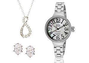 Silver Splendor: Jewelry & Watches