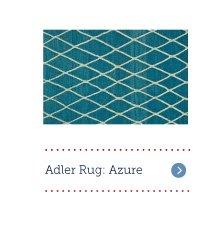 Adler Rug: Azure