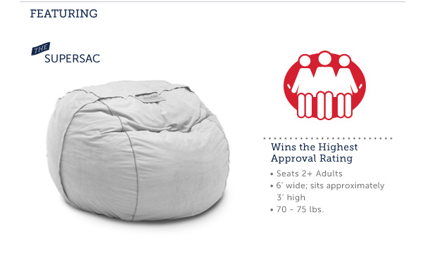 Featuring the Supersac - Wins the Highest Approval Rating!