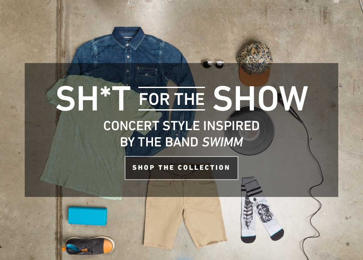 Sh*t For The Show: Concert Style Inspired By The Band SWIMM