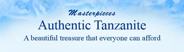 Masterpieces Authentic Tanzanite