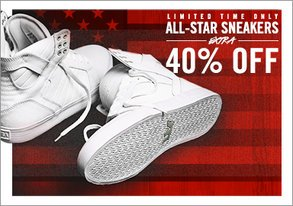 Shop LTD TIME ONLY: All-Star Sneakers