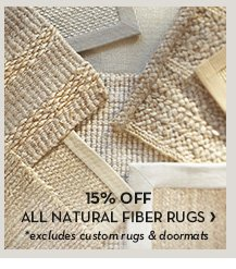 ALL NATURAL FIBER RUGS