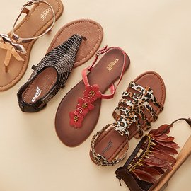 Step To It: Women's Sandals