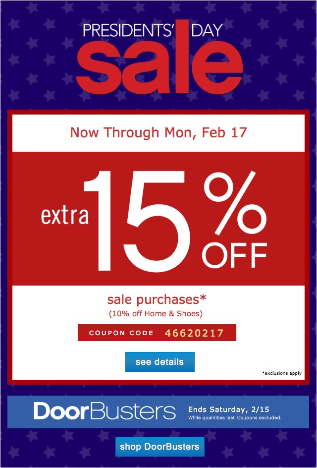 Extra 15% off. See details.