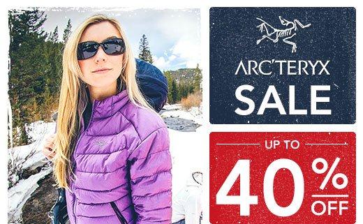 Arcteryx Up to 40% off