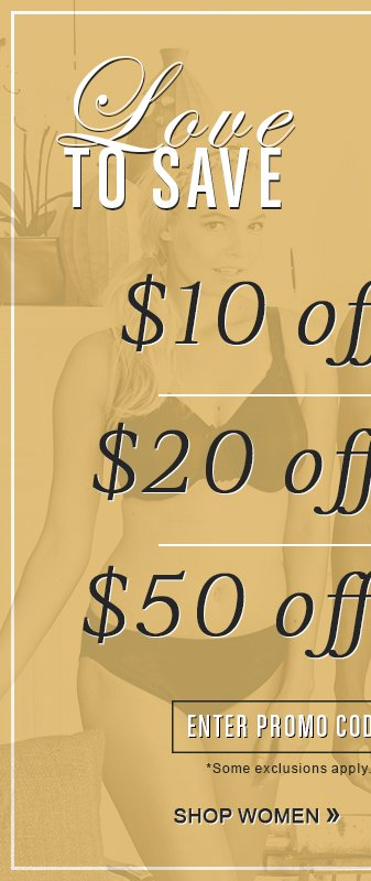 Up To $50 Off Your Order With Code LOVE14
