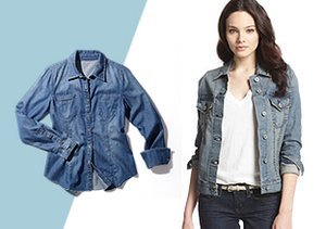 Case of the Blues: Denim, Tops & More