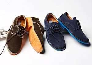 Crazy for Suede: Kids' Shoes