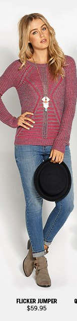 Flicker Jumper $59.95