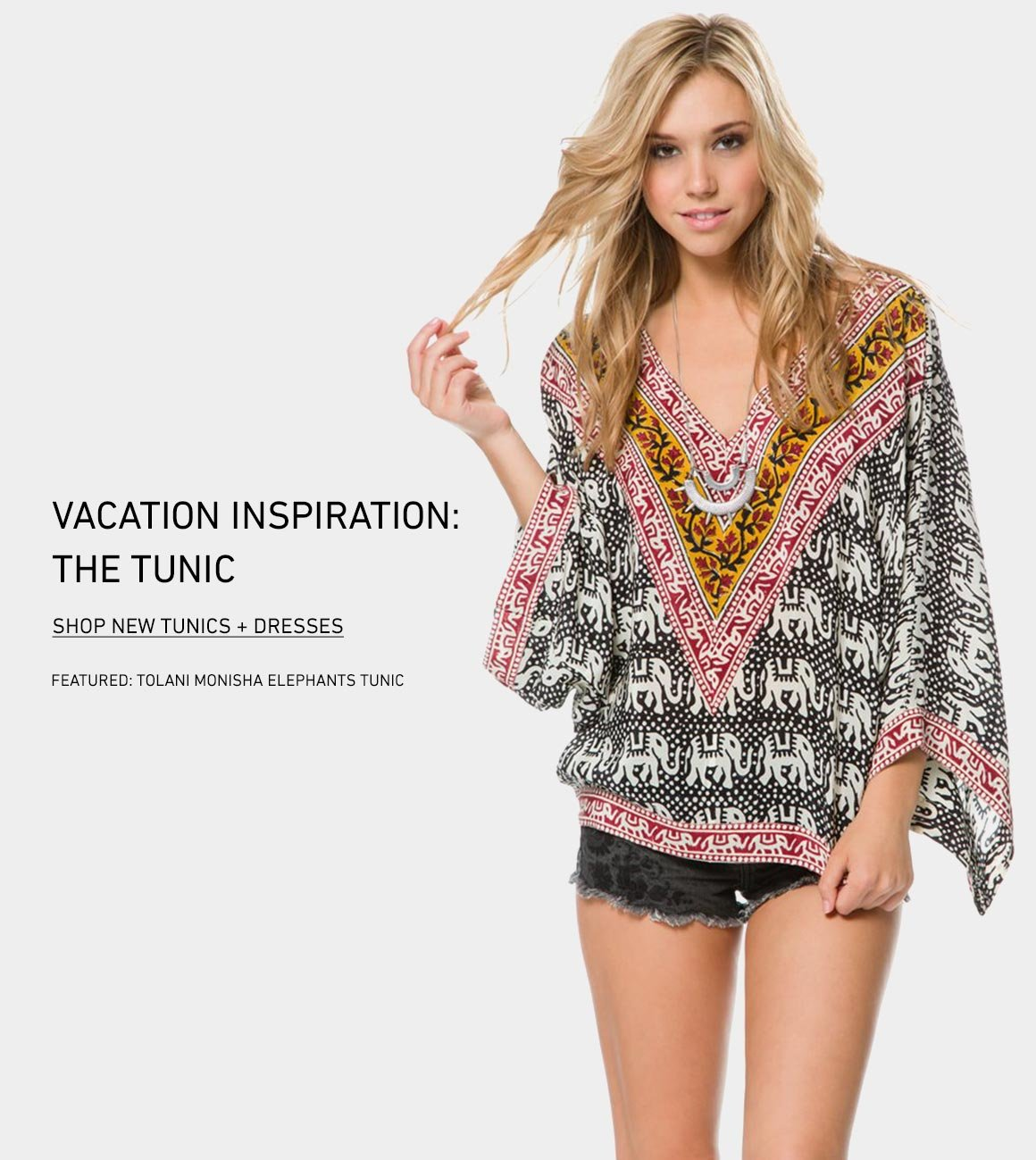 Vacation Inspo: New Tunics