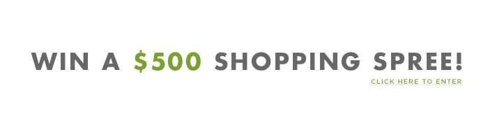 Win a $500 Shopping Spree!