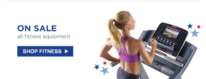 ON SALE | all fitness equipment | SHOP FITNESS