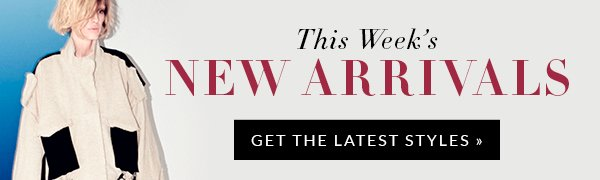 Shop Our Weekly New Arrivals