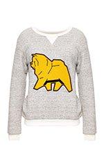 Cotton Duffel Sweatshirt