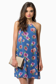 Into Bloom Shift Dress 36