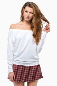 Layla Off Shoulder Sweater 33