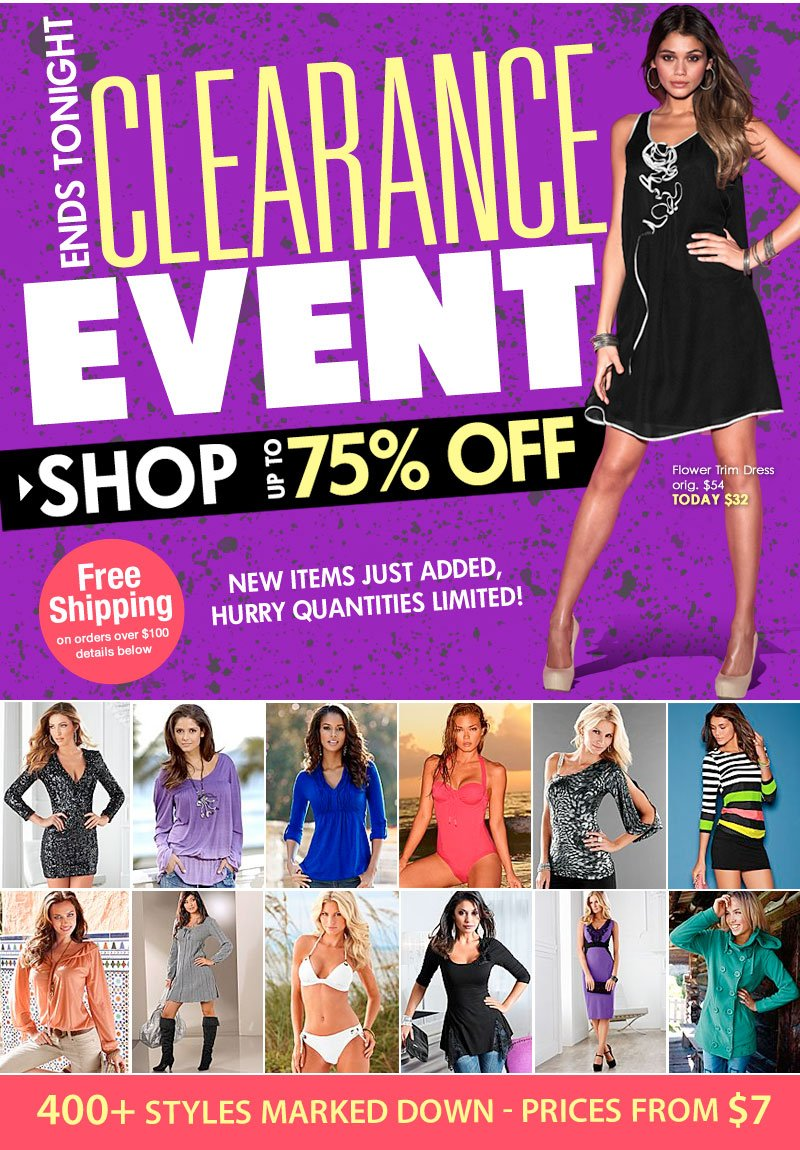 Splurge Worthy! Up to 75% OFF! NEW items just added! Hurry, get first dibs!