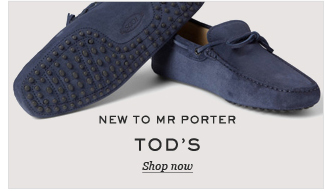 New To Mr Porter: Tod's. Shop now