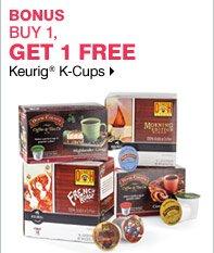Buy 1, Get 1 Free K-cups