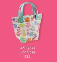 taking tea lunch bag