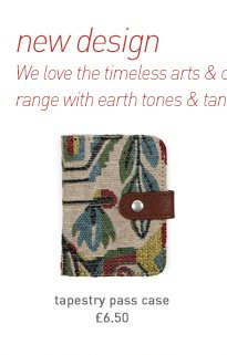 tapestry pass case