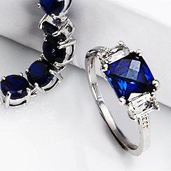Midnight Blue Gemstone Jewelry Starting at $10