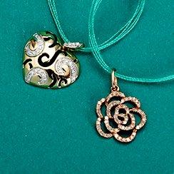 Designer Diamond Jewelry Starting at $29