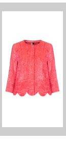 Fringe Scallop Jacket